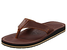 Tommy Bahama - Beach Walker Perf'd Leather (Brown) - Footwear