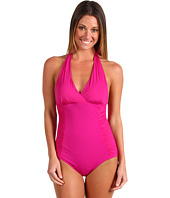 Spanx Swimwear - Streamlined Silhouette Halter One Piece