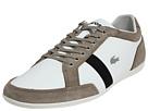 Lacoste - Alisos (Off White/Black/Light Brown) - Footwear