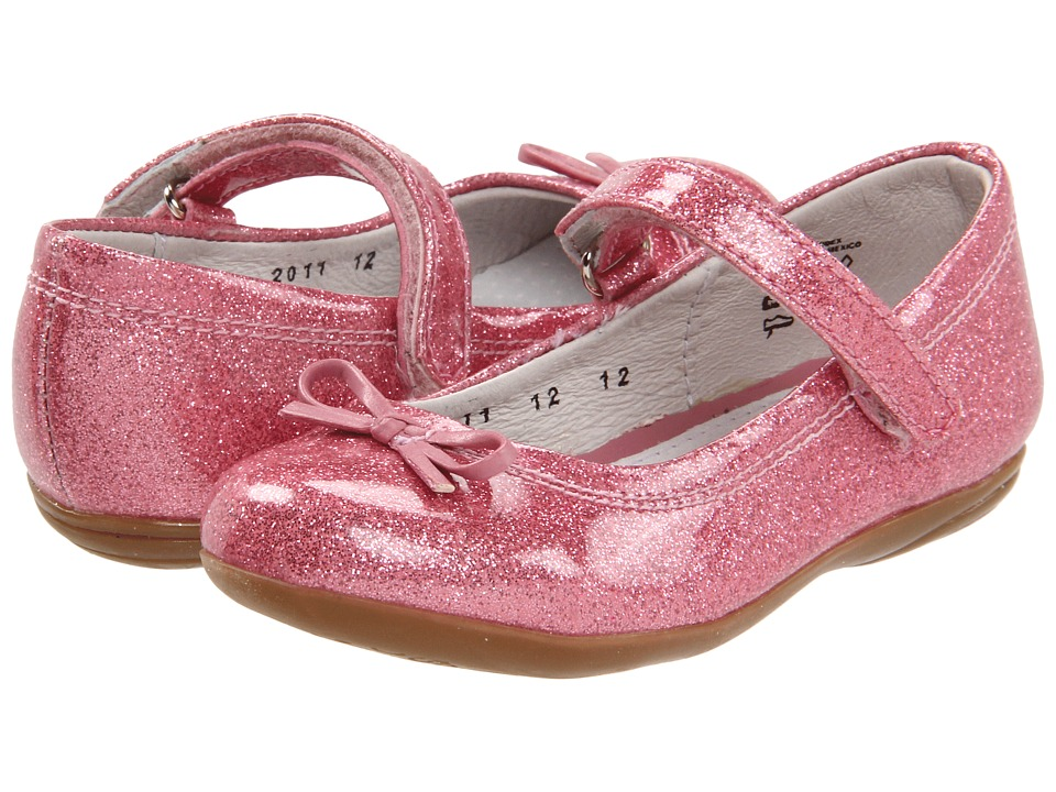 Kid Express - Josie (Toddler/Little Kid/Big Kid) (Pink Glitter Patent) Girls Shoes