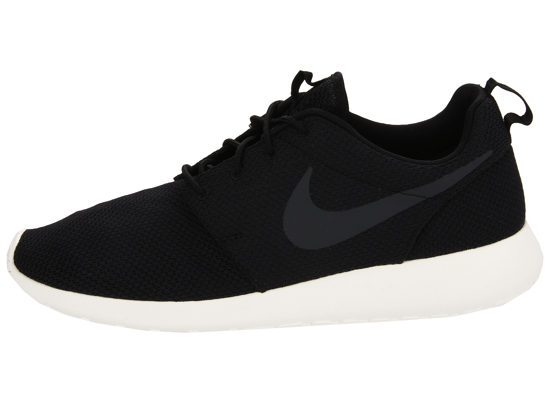 zappos nike roshe womens black and white