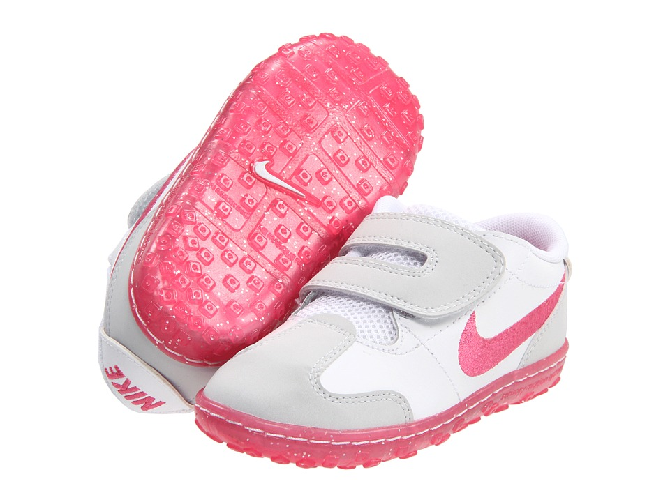 Nike Kids SMS Roadrunner 2 (Infant/Toddler) (Pure Platinum/White/Spark) Girls Shoes