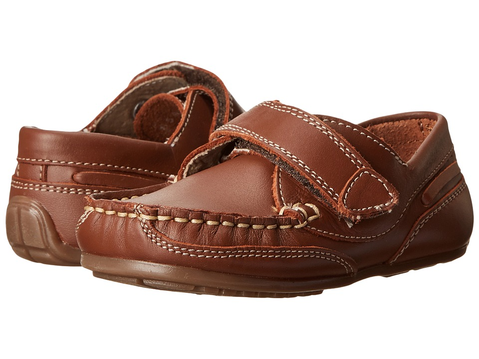 Kid Express Chase (Toddler/Little Kid) (Chesnut Leather) Boys Shoes