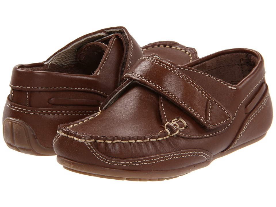 Kid Express Chase Toddler/Little Kid Dk. Brown Leather Boys Shoes