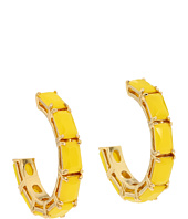 Kate Spade New York - Treasure Chest Hoop Earrings