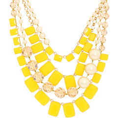 Kate Spade Yellow Necklace via J. Crew Review