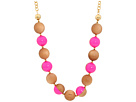 Kate Spade New York - Rosewood Dot Necklace (Flo Pink) - Jewelry