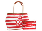Nine West - One Stop Shopper Large Tote (Rhubarb/Anchor/Cognac) - Bags and Luggage