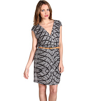 Twelfth Street by Cynthia Vincent - Cross Over Mini Dress w/ Belt