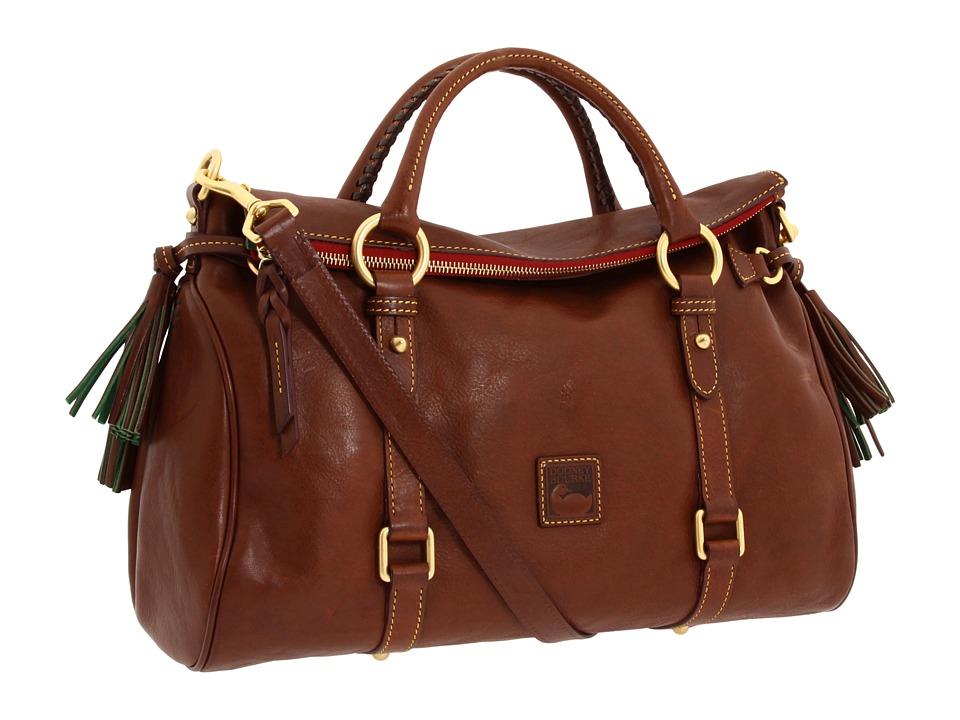 Dooney amp Bourke Florentine Vachetta Satchel Chestnut Handbags