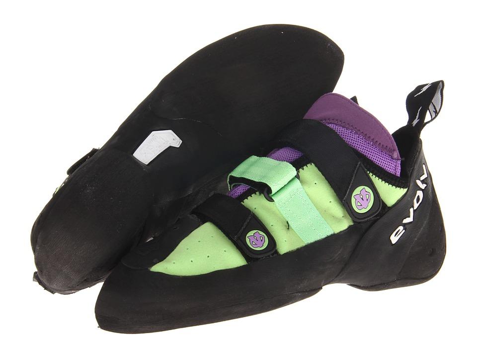 EVOLV Shaman LV Mint/Lavender Climbing Shoes
