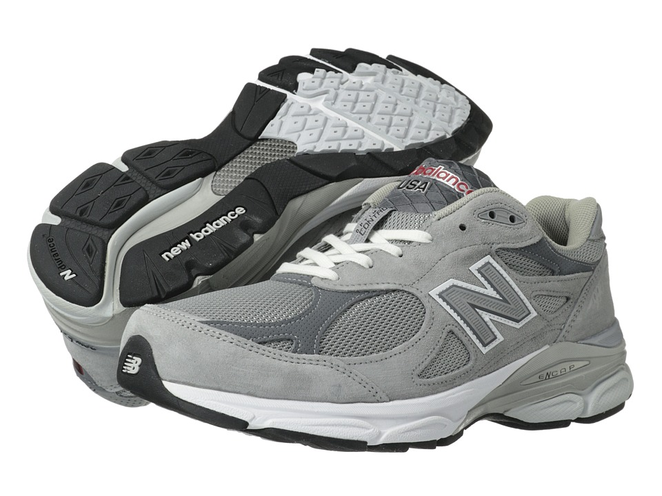 New Balance - M990v3 (Grey) Mens Running Shoes