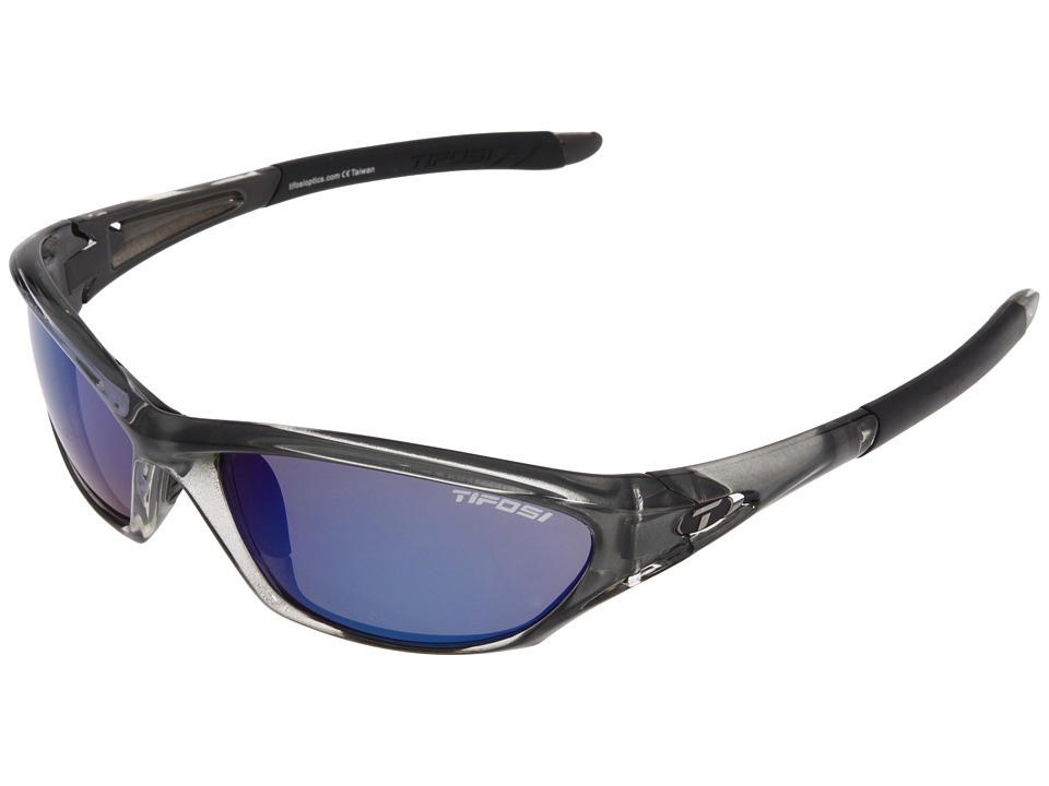 Tifosi Optics - Coretm (Crystal Smoke/Smoke Blue Lens) Athletic Performance Sport Sunglasses