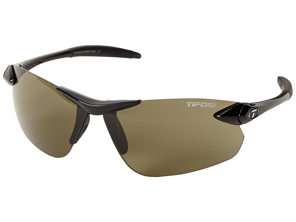 Tifosi Optics - Seektm FC (Gloss Black) Athletic Performance Sport Sunglasses