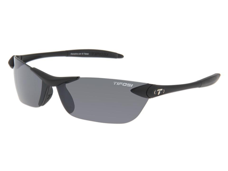 Tifosi Optics - Seektm (Matte Black/Smoke GG Lens) Athletic Performance Sport Sunglasses