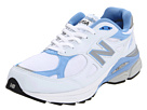 New Balance W990 White, Blue Shoes