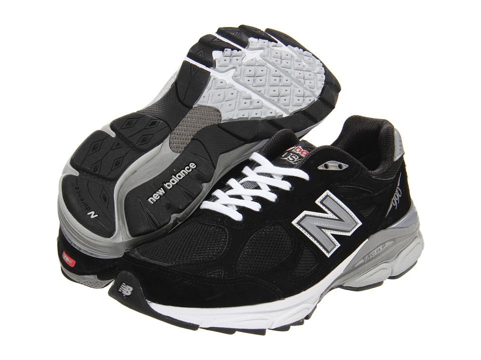 New Balance W990v3 (Black) Women's Running Shoes