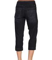 Jag Jeans Petite - Petite Dahlia Pull-On Crop in Atlantic Blue