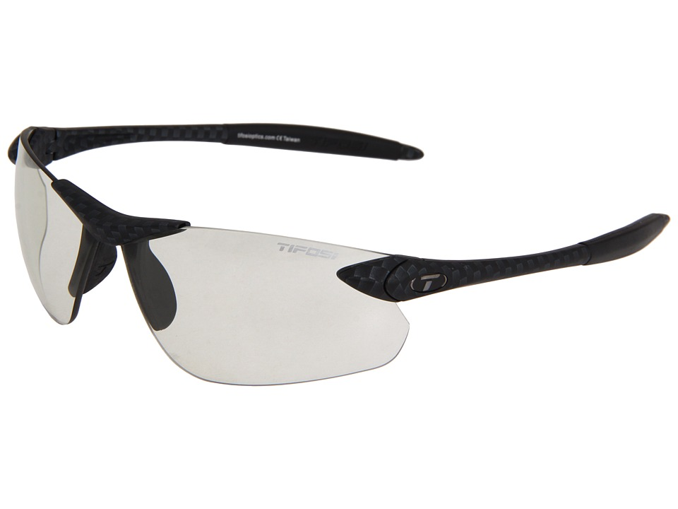 Tifosi Optics - Seektm Fototectm FC - Light Night (Carbon/ Light Night Fototec Lens) Athletic Performance Sport Sunglasses