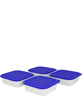 BIA Cordon Bleu - 15 oz. Square Bowl with Lid - Set of 4