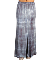 Green Dragon - Wash Long Flowy Skirt