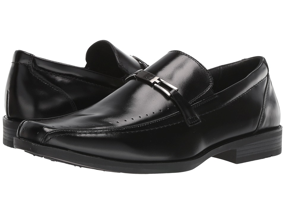 Stacy Adams - Cade (Black) Mens Slip-on Dress Shoes