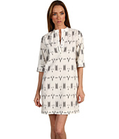 10 Crosby by Derek Lam - Short Sleeve Tunic Dress