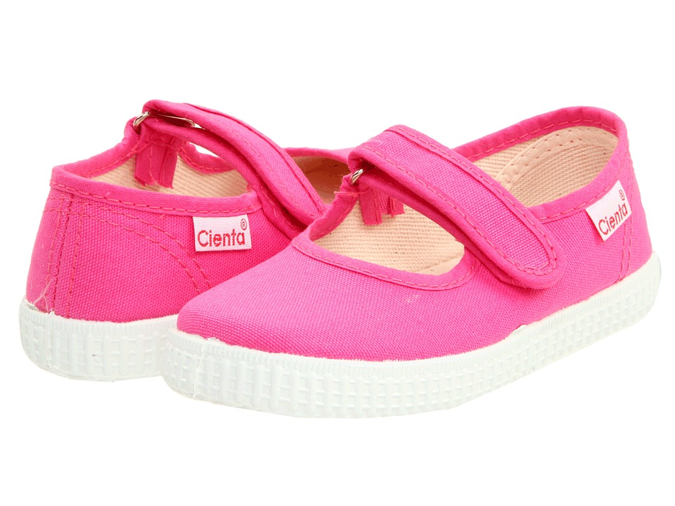 Cienta Kids Shoes - 5600012 (Infant/Toddler/Little Kid/Big Kid) (Fuchsia) Girls Shoes