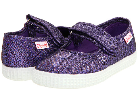 Cienta Kids Shoes 56013 (Infant/Toddler/Little Kid/Big Kid) - Purple Metallic
