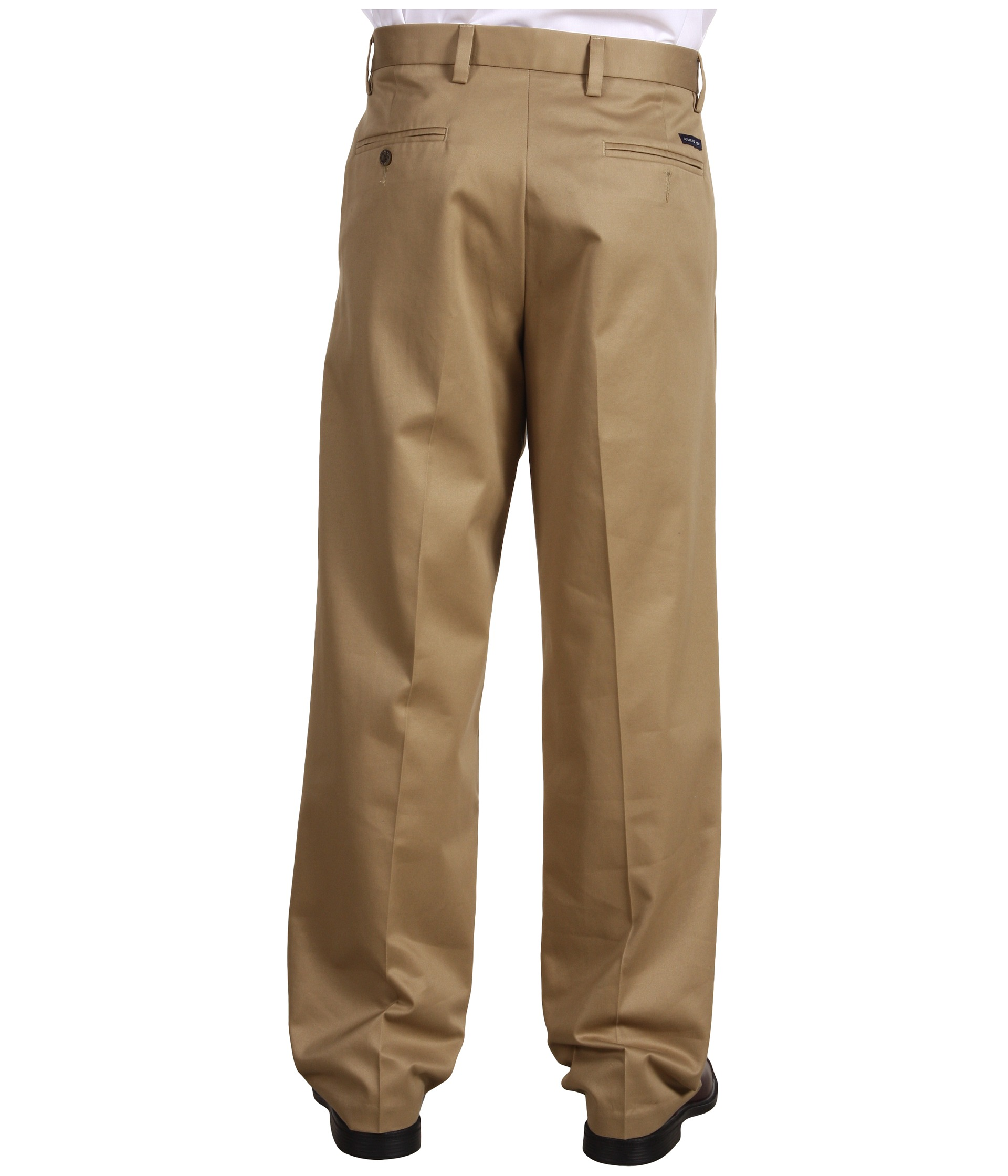 Dockers Men's Signature Khaki D4 Relaxed Fit Pleated - Zappos.com ...
