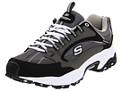 SKECHERS - Stamina - Nuovo (Charcoal/Black) - Footwear