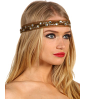 Jane Tran - Embroidered Mesh Headband