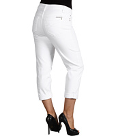 DKNY Jeans - Plus Size Soho Crop in White