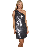 ABS Allen Schwartz - Sequin One Shoulder Dress
