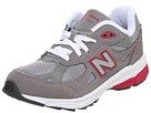 New Balance Kids KJ990 Little Kid Grey, Pink Shoes