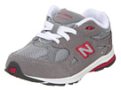 New Balance Kids KJ990 Infant, Toddler Grey, Pink Shoes