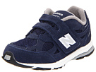 New Balance Kids KV990I Infant, Toddler Navy Shoes