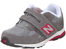 New Balance Kids KV990 Infant, Toddler Grey, Pink Shoes
