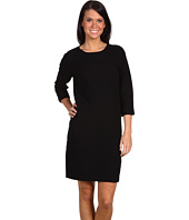 Nicole Miller - Reverse Knit Long Sleeve Sweater Dress
