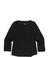 Three Little Dots Kids - 3/4 Sleeve Cardigan (Big Kids)