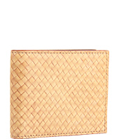 Jack Spade - Straw Weave Leather Bill Holder