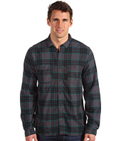 Converse Black Canvas - L/S Wrinkle Plaid Shirt