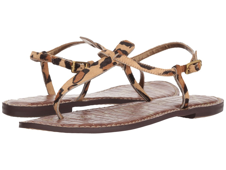 Sam Edelman Gigi (New Nude Leopard) Sandals