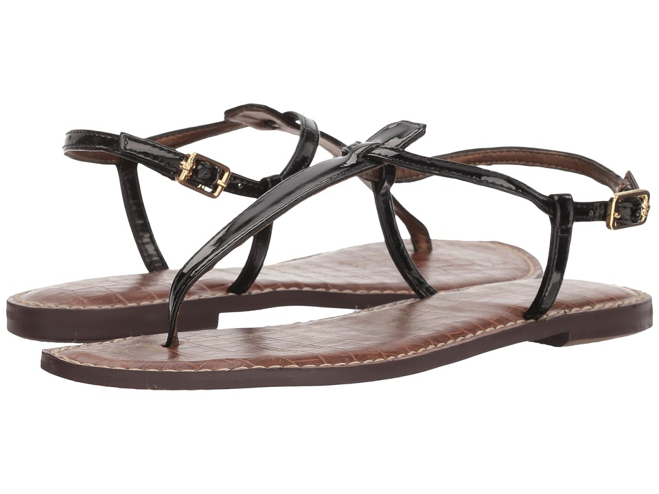 Sam Edelman Gigi (Black Patent 2) Sandals