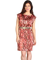 Anne Klein Petite - Petite Watermark Printed Dress