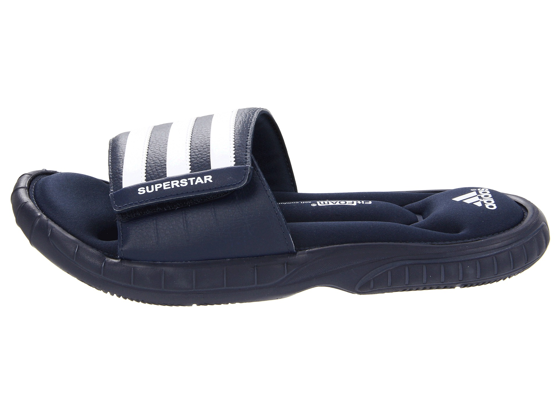 adidas mens superstar 2g slide sandal