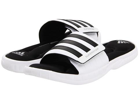 adidas Superstar 3G Slide - White/Black/Metallic Silver