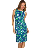 Anne Klein Petite - Petite Petal Abstract Knit Dress