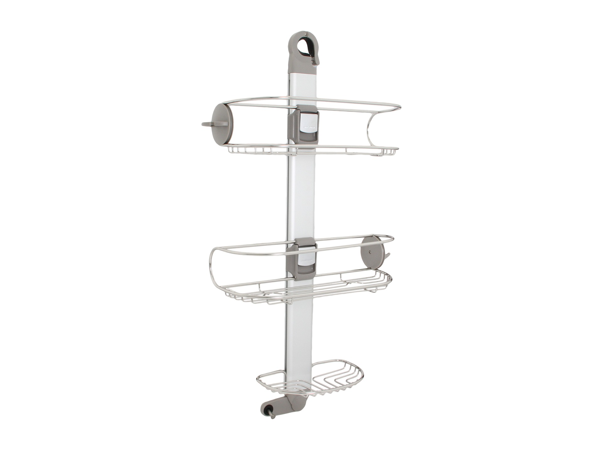 Simplehuman Adjustable Shower Caddy Stainless Steel Shipped Free At Zappos