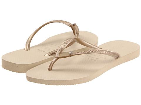Havaianas Slim Crystal Glamour SW Flip Flops